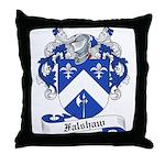 Falshaw Family Crest Throw Pillow