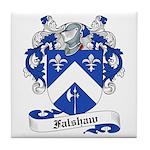 Falshaw Family Crest Tile Coaster