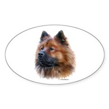 Eurasier Oval Sticker (10 pk)