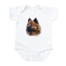 Eurasier Infant Bodysuit