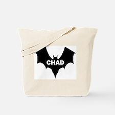 BLACK BAT CHAD Tote Bag
