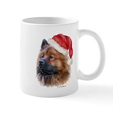 Christmas Eurasier Mug