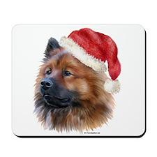 Christmas Eurasier Mousepad