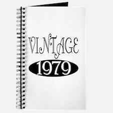 Vintage 1979 Journal