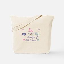 Grandpa's Princess Eva Tote Bag