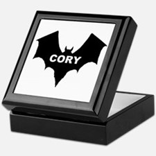 BLACK BAT CORY Keepsake Box