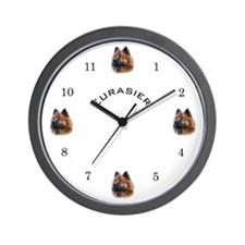 Eurasier Wall Clock