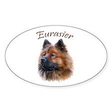 Eurasier Oval Decal