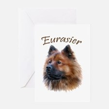 Eurasier Greeting Card