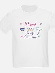 Grandpa's Princess Hannah T-Shirt