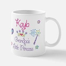 Grandpa's Princess Kayla Mug