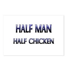Half Man Half Chicken Postcards (Package of 8)