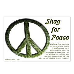 Eight Shag for Peace Postcards