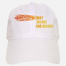Hot Mama For Obama Baseball Baseball Baseball Cap