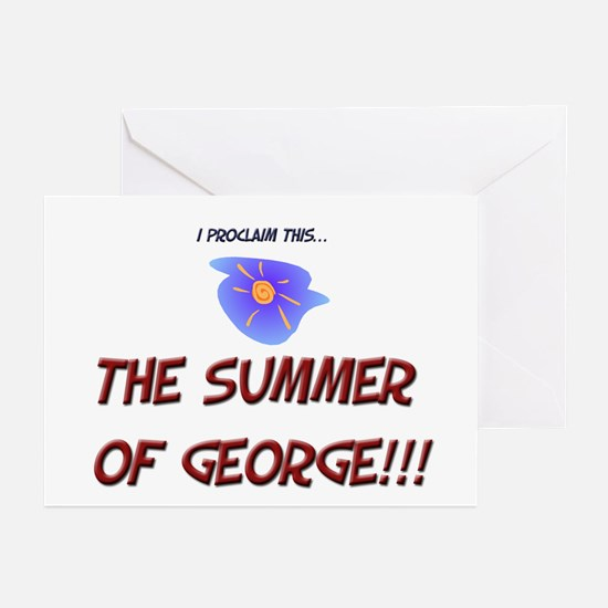Summer  of George Greeting Cards (Pk of 10)