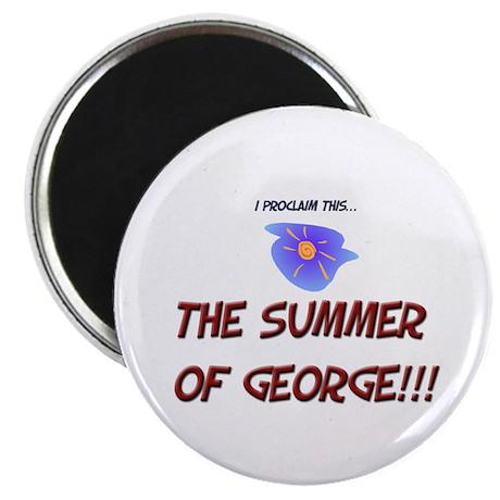 Summer of George Magnet