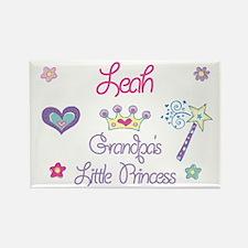 Grandpa's Princess Leah Rectangle Magnet