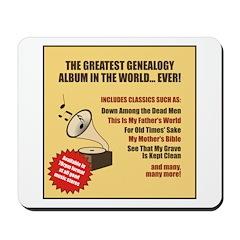 Genealogy Album Mousepad