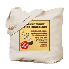 Genealogy Album Tote Bag