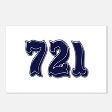 721 Postcards (Package of 8)