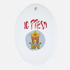 King Baby Preston Oval Ornament