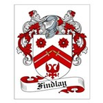 Findlay Family Crest Small Poster