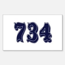 734 Rectangle Decal