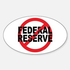 NO Federal Reserve Oval Decal