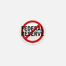 NO Federal Reserve Mini Button