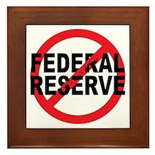 NO Federal Reserve Framed Tile