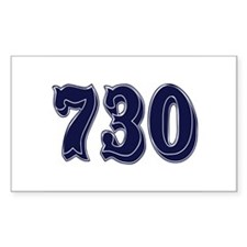 730 Rectangle Decal