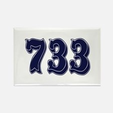 733 Rectangle Magnet