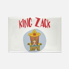 King Baby Zack Rectangle Magnet