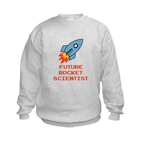 Future Rocket Scientist Kids Sweatshirt