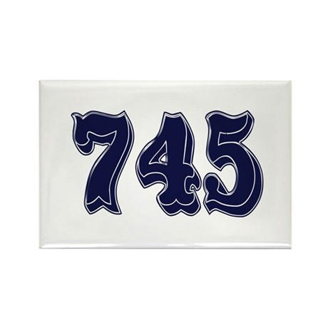 745 Rectangle Magnet (100 pack)