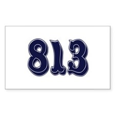 813 Rectangle Decal