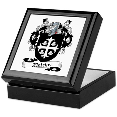 Fletcher Family Crest Keepsake Box