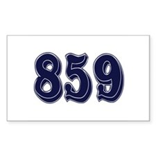859 Rectangle Decal