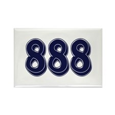 888 Rectangle Magnet