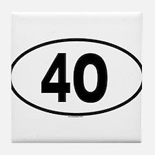 4O Tile Coaster