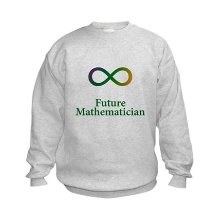 Future Mathematician Kids Sweatshirt