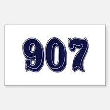 907 Rectangle Decal