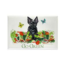 Eco Friendly Scottish Terrier Rectangle Magnet