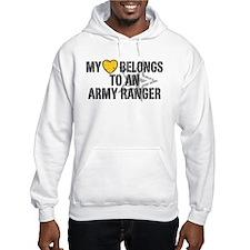 My Heart Belongs to an Army Ranger Hoodie