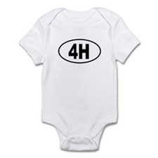 4H Infant Bodysuit
