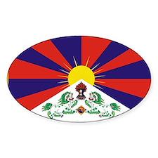 Tibet Oval Decal