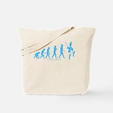 Evolution Blue Tote Bag