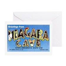 Niagara Cave Iowa Minnesota Greeting Card