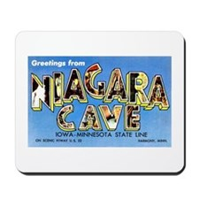 Niagara Cave Iowa Minnesota Mousepad