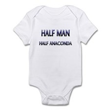 Half Man Half Anaconda Infant Bodysuit